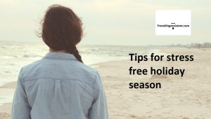 Tips for stress free holiday season