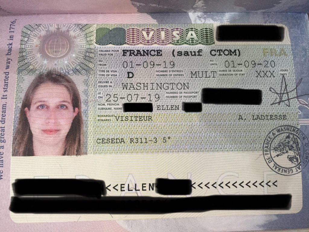 User guide for supporting documentation france visa