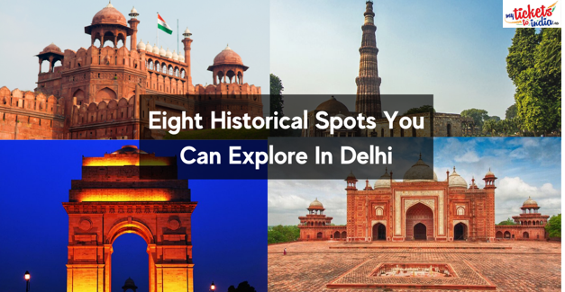 historical places near delhi within 100 kms