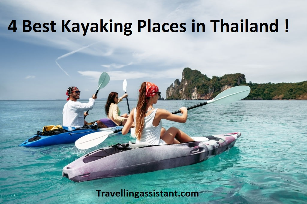 Kayaking Places in Thailand