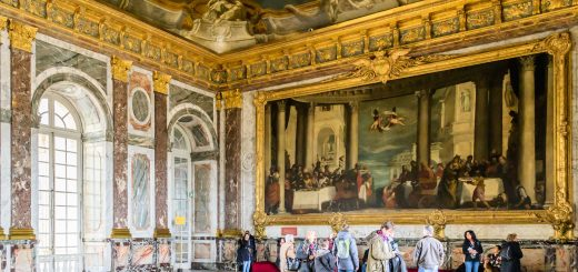 how to get to versailles castle from paris