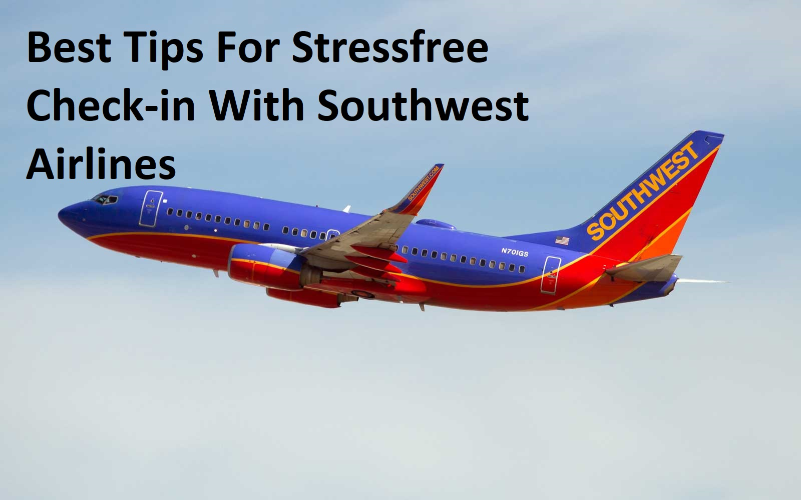 Best Tips For Stressfree Check-in With Southwest Airlines