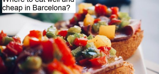 Where to eat well and cheap in Barcelona