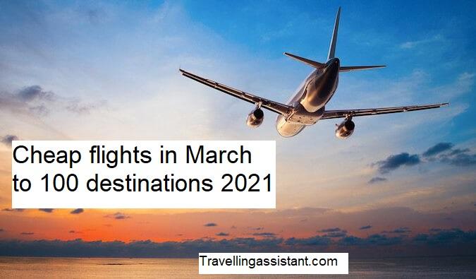 Cheap flights in March