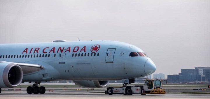 Air Canada flights