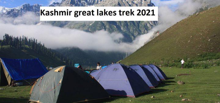 Kashmir great lakes trek 2021
